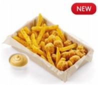Комбо картофель фри с хрустящей курочкой