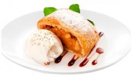 Пироженое Штрудель с мороженым