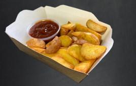 Картофельные дольки со специями